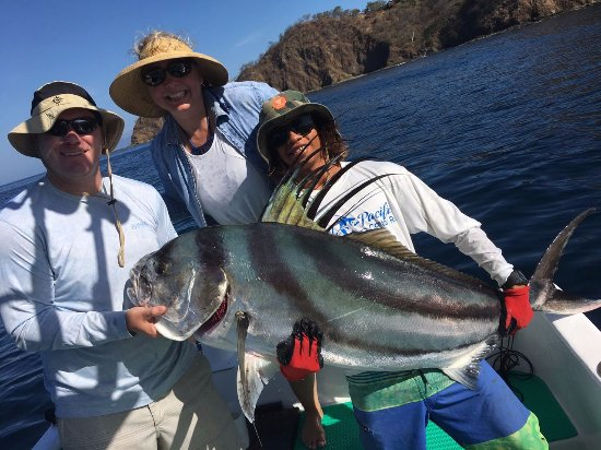 Playa Hermosa, Costa Rica: Another Couple of Happy Guys Rooster FIsh