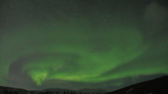 1st Alaska Tours : Aurora light photo taken at Chena Hot Spring on March 5, 2017 midnight