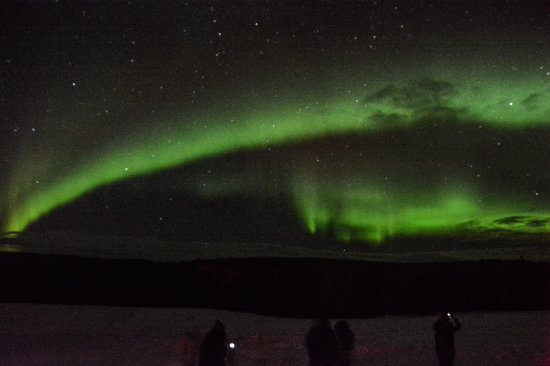 Alaska Northern Lights Tour: View from the ranch