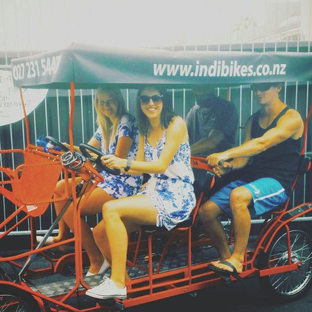 Mount Maunganui, New Zealand: Indi Bikes