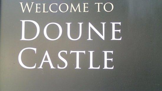 Bienvenue à Doune Castle