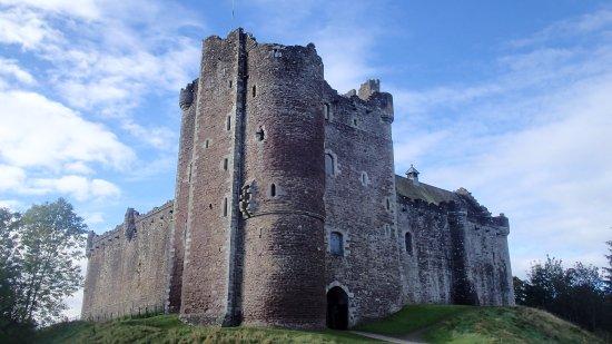 Doune, UK: Le château qui se dresse fièrement