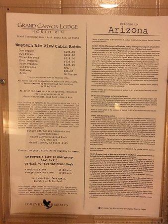 Grand Canyon Lodge - North Rim: Western Lodge #306