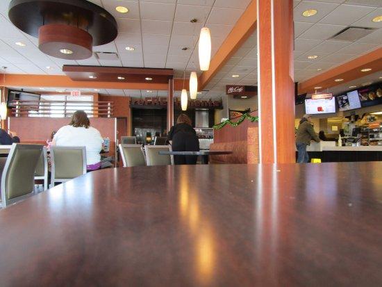 Inside McDonald's Coventry, R.I.