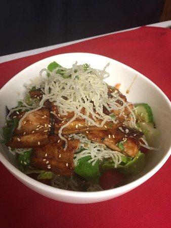 Malden, MA: Pork Belly Salad Rice Bowl (Grilled)