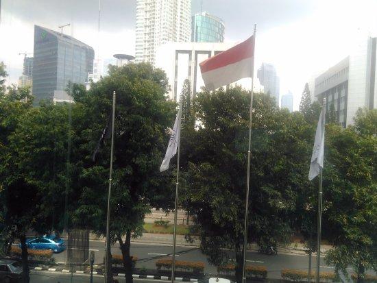 JS Luwansa Hotel and Convention Center : Pemandangan dari Rapha 1