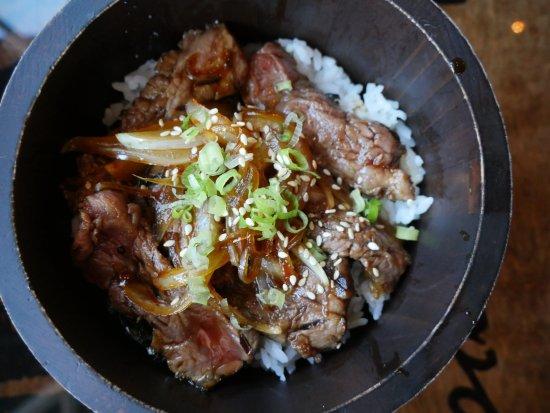 Malden, MA: Steak Teriyaki Don