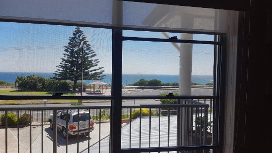 Port Noarlunga, Αυστραλία: Stunning views from the room and balcony outside