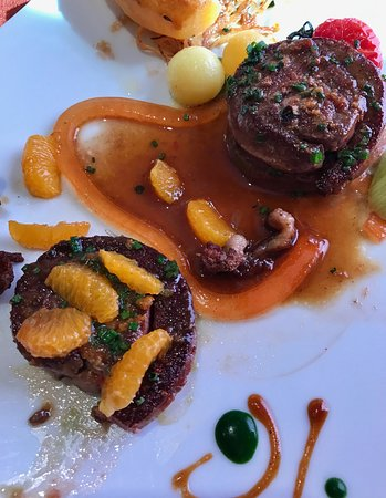 Orsieres, Szwajcaria: Duck main course