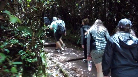 Poas Volcano National Park, Costa Rica: el agua embotellada no falto
