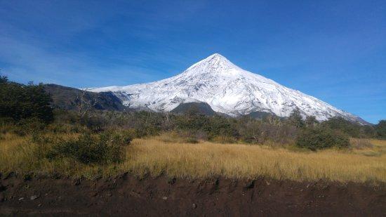 Lanin National Park, Argentyna: Volcán Lanin Nevado
