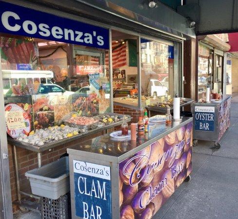 Cosenzas fish market bronx restaurant reviews phone for Fish market bronx
