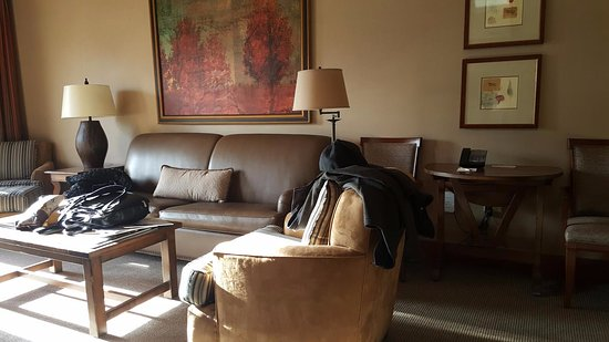 Sunriver Resort: separate living room
