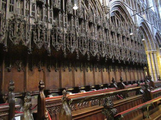 Chester Cathedral: Interior de la catedral.