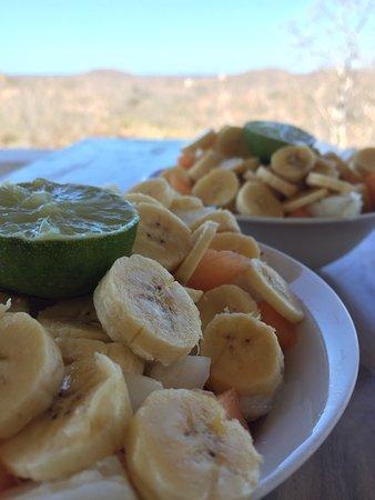 Departamento de Rivas, Nicarágua: Yummy fruit salad