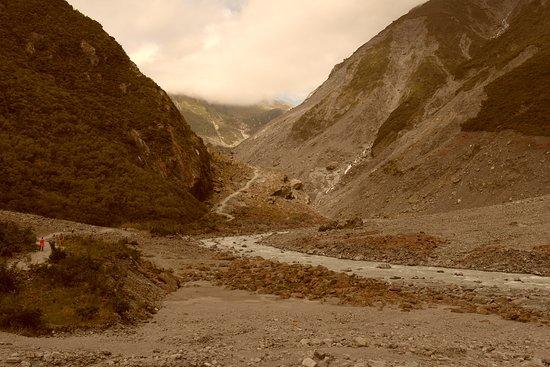 Fox Glacier, Nowa Zelandia: Halfway up