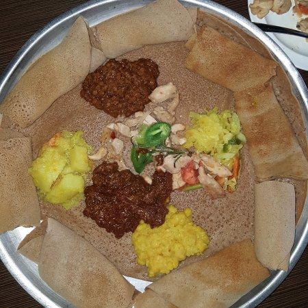 Photo of African Restaurant Elsa's Ethiopian Restaurant at 8016 Santa Fe Dr, Overland Park, KS 66204, United States