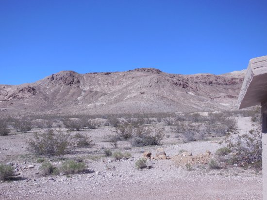 Rhyolite: View of mountains nearby