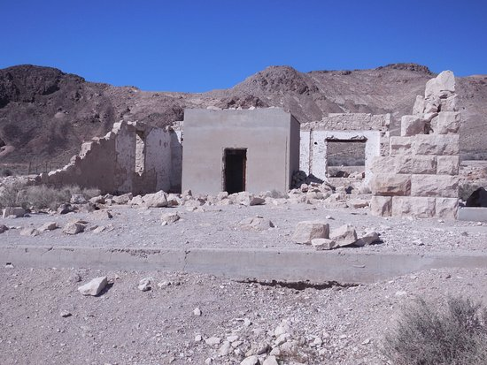 Rhyolite: Remains