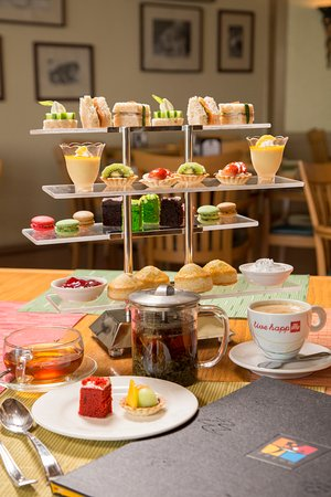 Prego: Afternoon Tea for two.  Offered daily 2PM-5PM.