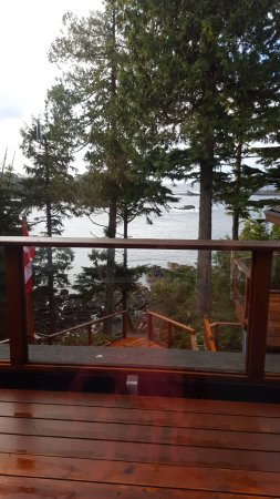 A Snug Harbour Inn: View from deck in Lighthouse Room