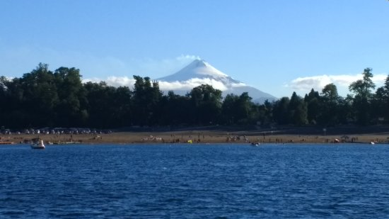 Lake Caburga: Media vista