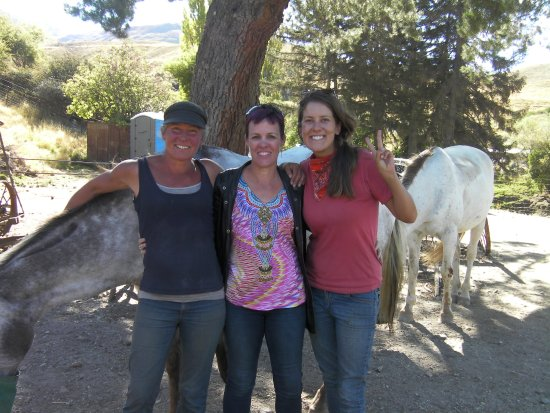 Wanaka, Nouvelle-Zélande : Debs, Me, Rosie