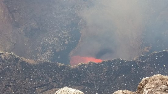 Masaya, Nicaragua: daytime volcanic view