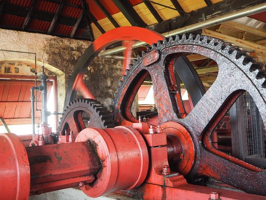 Saint Peter Parish, Barbados: giant gears