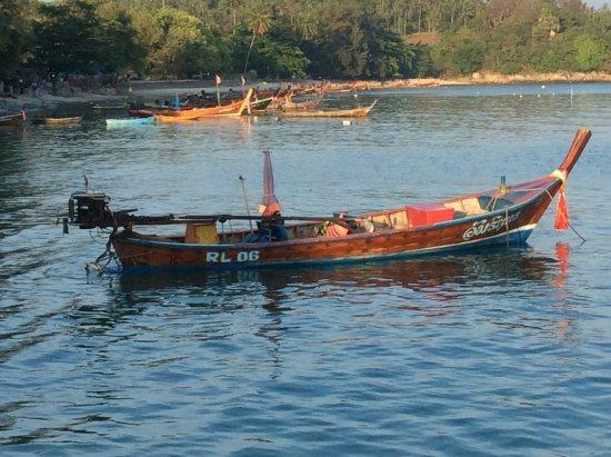 Раваи, Таиланд: Thai long tail boat