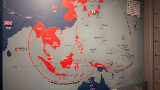 One Of Many Good Maps Depicting The US War Against Japan Picture - Map 0f japan