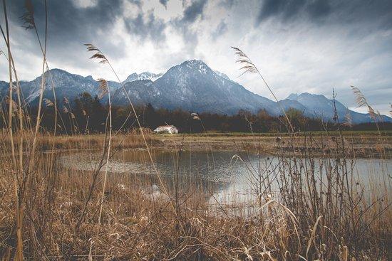 Aigle, Szwajcaria: A small lake