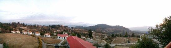 Chaukori, India: panoramic view from Watchtower