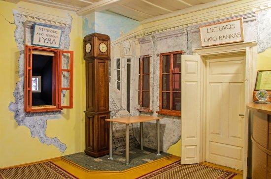 Lazdijai, Litauen: The inside of museum's historical exposition