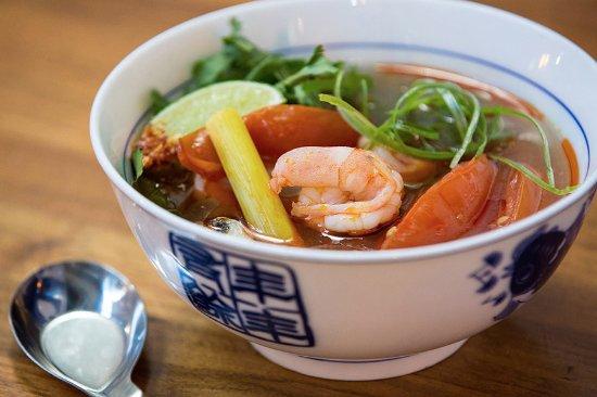 Tom Yum Soup - Picture of Bang Chop Thai Kitchen, Chicago - TripAdvisor