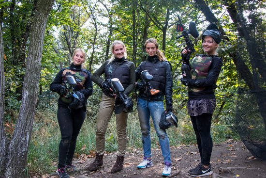 Mergozzo, İtalya: Paintball Verbania