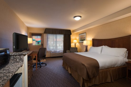 Holiday Inn Steamboat Springs: Deluxe King Bed WC Accessible