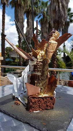 Vanderbijlpark, Sudáfrica: Chocolate Brownie and Toasted Marshmallow Freak Shake