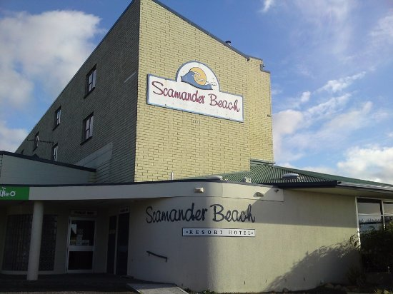 Scamander, Australia: the hotel from the front
