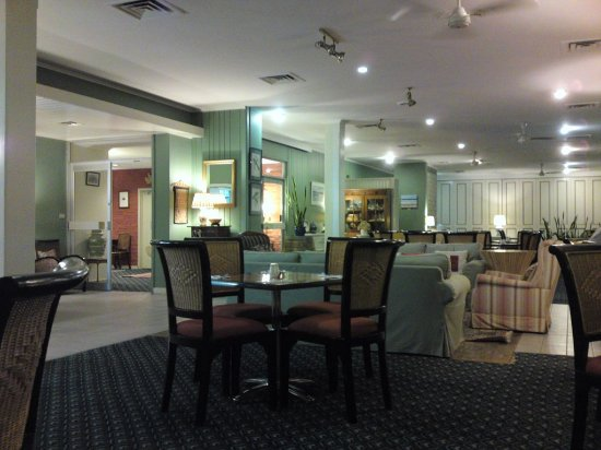 Scamander Beach Hotel Motel : the dinning in the restaurant