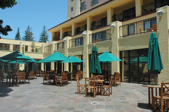 Crowne Plaza Cabana Hotel Courtyard Picture Of Palo