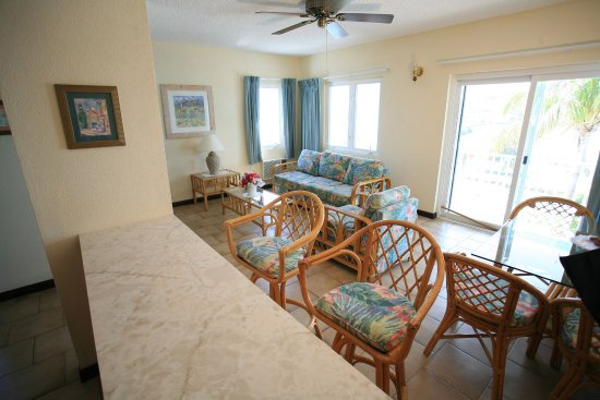 Timothy Beach Resort One Bedroom Suite Living Room