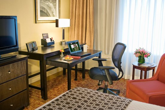 Crowne Plaza Tysons Corner: Work from your Guest Room with a portable Work Desk.