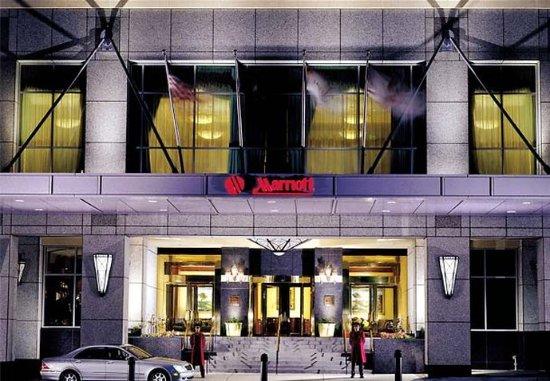 Salt Lake City Marriott City Center: Porte-Cochere