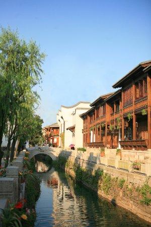 Fuzhou, China: 安泰河