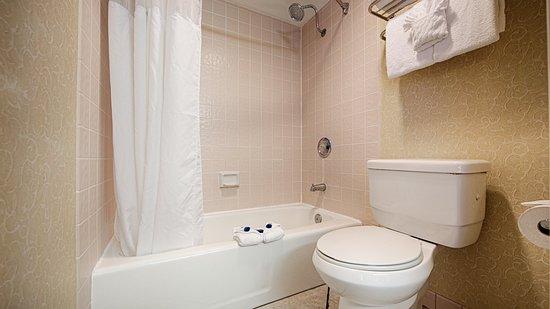 BEST WESTERN Palm Garden Inn: Bathroom
