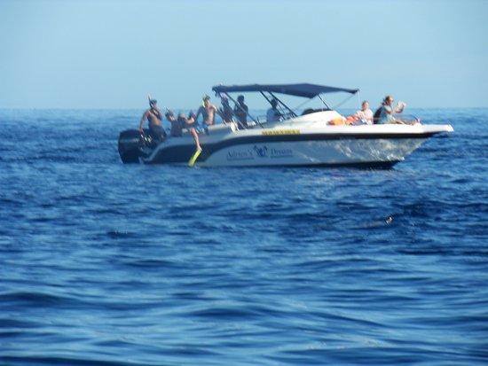 Flic En Flac: the boat