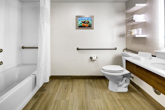 Pembroke Pines, Флорида: Accessible Bathroom With Tub
