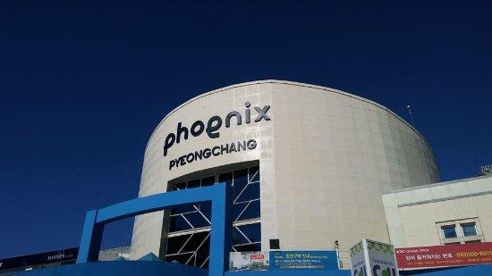 Pyeongchang-gun, Sør-Korea: Phoenix
