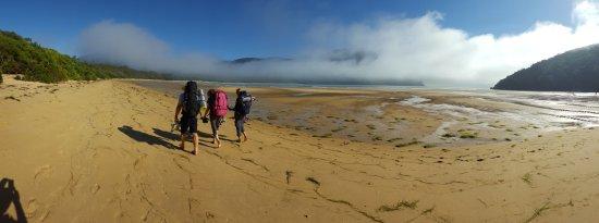 Wilsons Promontory National Park, Australia: The start of the return walk